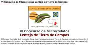 VI CONCURSO DE MICRORRELATOS LENTEJA DE TIERRA DE CAMPOS